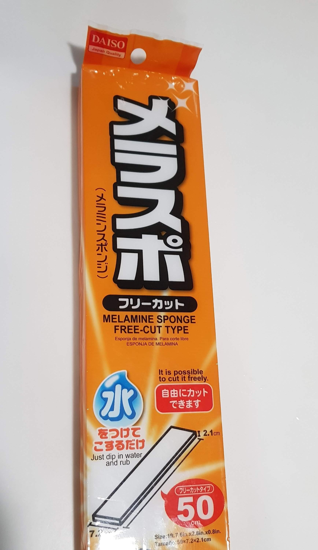 Daiso Melamine Sponge - It works! - My